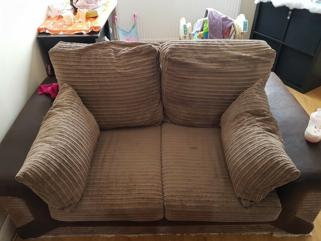 2x3 brown sofas FREE