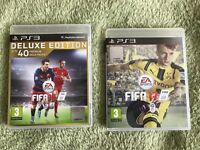 FIFA 16 & 17 for PS3 - Mint Condition