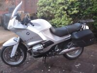 BMW R1150RS, 2003 ABS, panniers