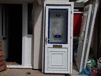 double glazed door £50.00