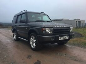 2003 Land Rover discovery 2 ES 2.5 td5 auto ( 7 seat)