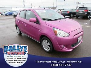 2014 Mitsubishi Mirage SE! ONLY 8K! Heated! Trade-In! Save!