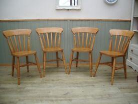 Stunning Pine Chairs