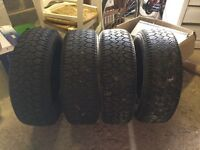 Full set winter tyres