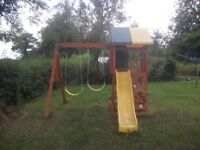 childrens swing/slide