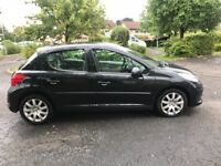 Peugeot 207 1.6 hdi diesel 2007 ,,, mot and taxed ,,,