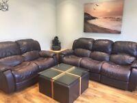 Sofa and table
