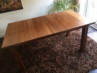 Dark Wooden Dining Room Table