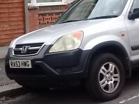 Honda CR-V 2.0 IVTEC SE Executive Estate 2003 Manual