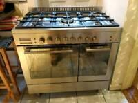 Baumatic 90cm dual cavity range cooker