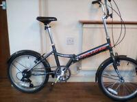 CHALLENGE HOLBORN – FOLDING BICYCLE