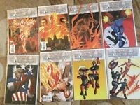 THE MARVELS PROJECT #1-8 SET..ED BRUBAKER..STEVE EPTING..2009 NM condition