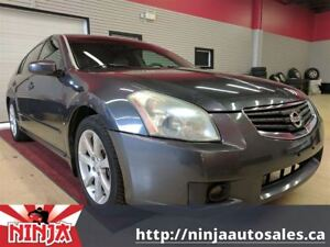 2007 Nissan Maxima SE Double Pano Roof Heated Leather
