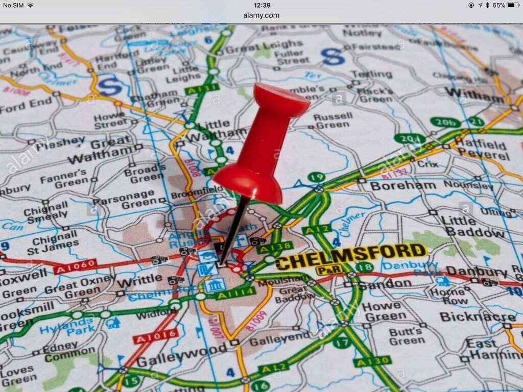 Seeking 1/2 Bedroom property in Chelmsford for the end of April