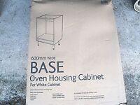 White B&Q Base Oven Housing