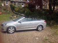 Low mileage Vauxhall astra twintop convertible.