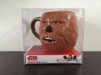 Disney Star Wars Chewbacca mug, by Primark, collectable, 3d mug