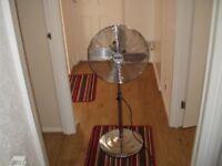 16 inch chrome pedestal fan exellent condition