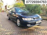 2002 Saab 9-3 2.0 T SE 5dr Automatic # 8 Months MOT # Leather Trim. #