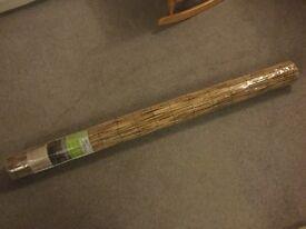 Brand new Italian bamboo blind 150 x 300 cm