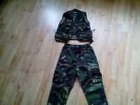 Kids proper army outfit