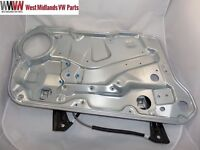 VW GOLF MK4 BORA FRONT ELECTRIC WINDOW REGULATOR W/O MOTOR LEFT PASSENGER