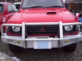Front bumper 4x4 pajero SORRY NOW SOLD