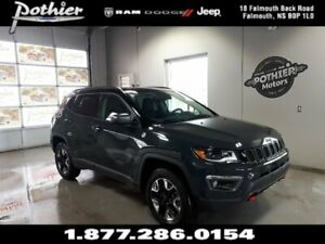 2017 Jeep Compass Trailhawk | SUNROOF | HEATED SEATS | NAV |