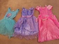 Dress up dresses ages 3-4 frozen