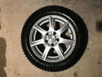 4x Enzo Alloy wheels. 6.5Wx16inD 5H/115 PCD, OS 40.
