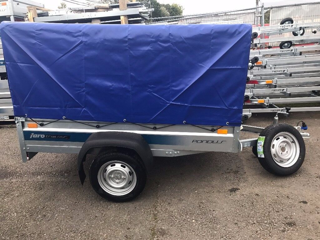 BRAND NEW FARO PONDUS CAMPING TRAILER WITH SPARE WHEEL