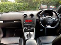 AUDI S3 2009/09 S-TRONIC PADDLE SHIFT FACELIFT DRL'S 360 BHP STAGE 3 MILTEK FLAT BOTTOM !!!£8995
