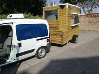 food trailer with chiller van