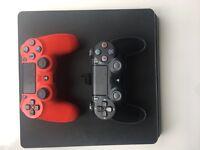Sony Playstation 4 slim 1TB console BUNDLE
