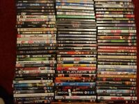 JOB LOT DVD'S 100 TITLES IN GOOD CONDITION