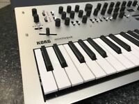 Korg Minilogue - Polyphonic Analogue Synthesizer - As new, boxed.