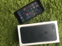 iPhone 7 Plus in Black 128gb