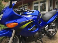 Suzuki GSX 600f. Great Value Sports Tourer. Ideal first big bike.