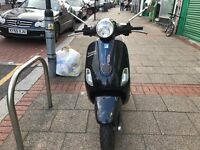 POAGGIO VESPA LX 50 cc black 2007 low mileage hpi clear !!