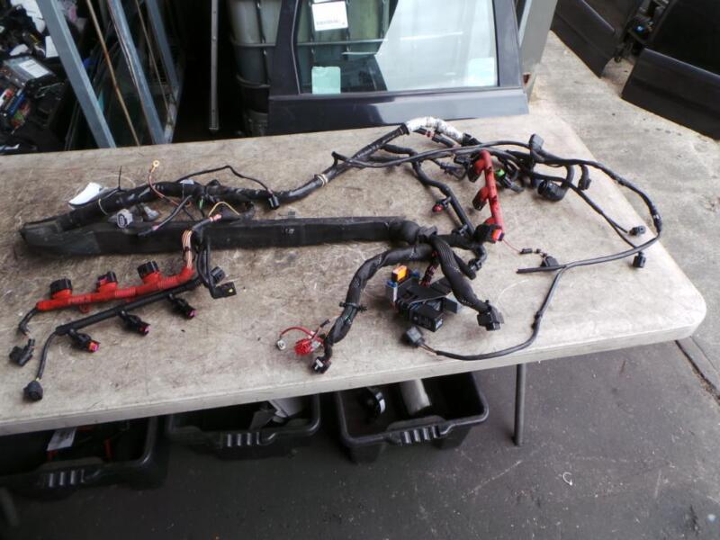 Audi A4 Engine Wiring Harness 3 0ltr Auto Bbj B6 07 01 02 05 Ebay