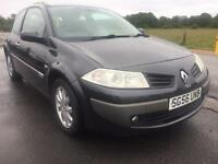 BARGAIN! Trade in to clear, Renault megane diesel, full years MOT awaiting preparation