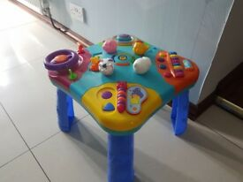 activity table , toy unisex