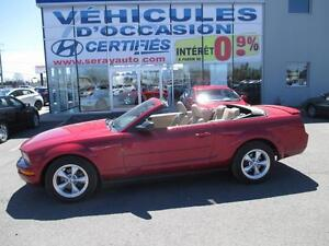 2007 Ford Mustang V6 DECAPOTABLE 68695 KM None
