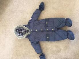 Boys 3-6 month snowsuit