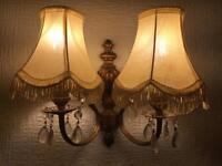 Antique wall lights