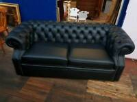 Black Chesterfield Sofa Bed