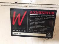 "Axminster 10"" Planer Thicknesser AW106PT Power Tools"