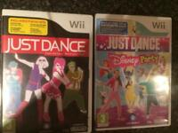 Wii Just Dance games
