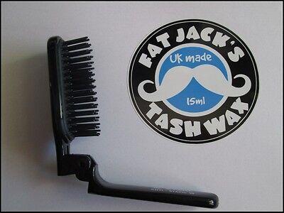 Kent Anti-Static Folding Hair Brush Volumising Curling & Speed Styling AS10