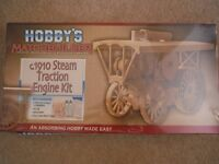 Hobbys Matchbuilder C.1910 Steam Traction Engine Matchstick Model Kit